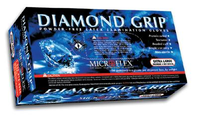 Diamond Grip™ Latex Gloves - Thomas Scientific - Laboratory